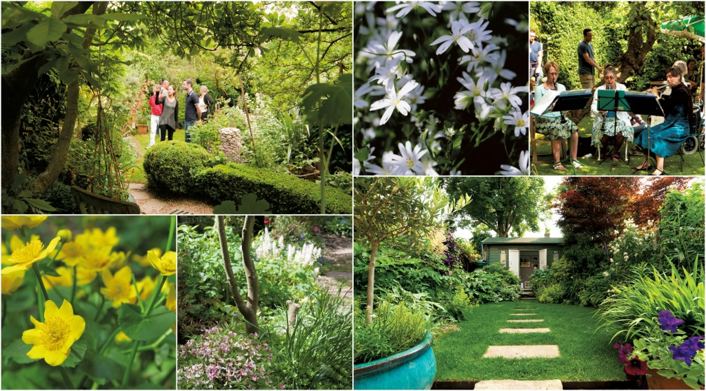 Open Gardens collage 2