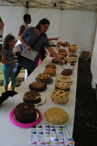 Cake competition entrants